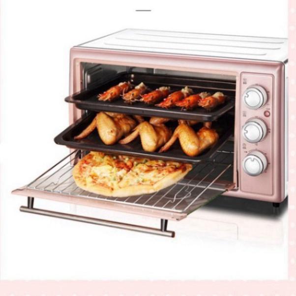 Lò nướng điện Bear 30L Ba tầng nướng công suất lớn Lò nướng Bánh DKX-B30N1- Bảo hành 12 tháng - tongdailytoanquoc_MD5