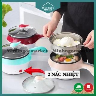 [Tặng giá hấp] Nồi lẩu mini 2 nấc nhiệt / Nồi điện đa năng nấu mì siêu tốc