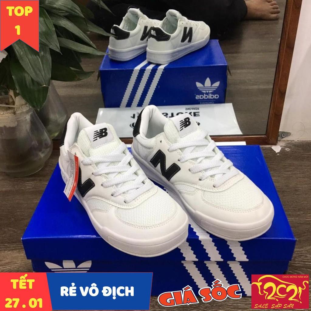 [ Mua Ngay ] Giày Sneaker NB chữ đen phản quang
