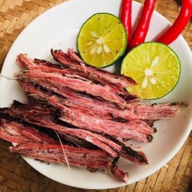 Thịt gác bếp Tây Bắc (TẶNG CHẨM CHÉO) thịt trâu, lợn gác bếp chuẩn vị.Thịt trâu lợn sấy khô gác bếp TẶNG CHẨM CHÉO