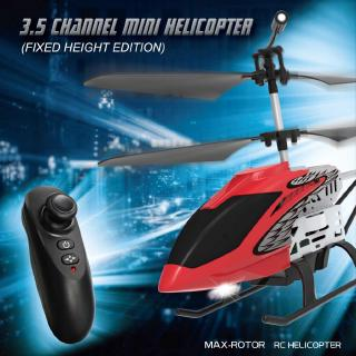 【In stock】 Fixed height 3.5 channel alloy remote-controlled aircraft helicopter uav aircraft children's electric toy 【te】