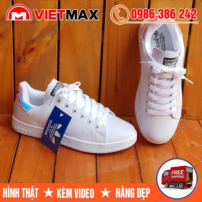 ⚡[FREE SHIP] Giày Adidas Stan Smith Gót Ngọc Trai Hàng Việt Nam