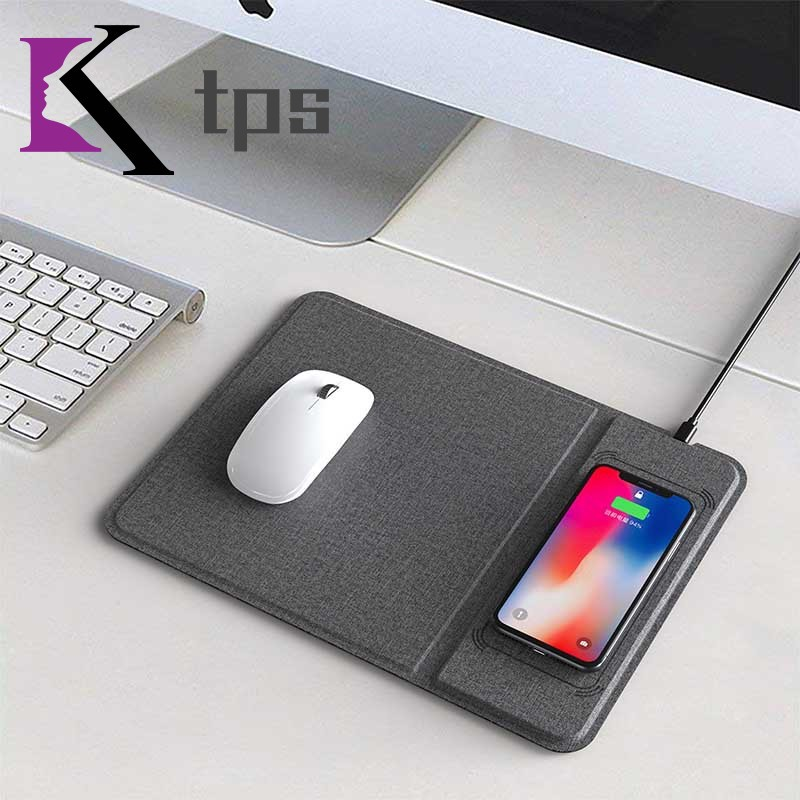 Multifunction Game Mousepad Ultra-thin with Wireless Charger 5/10W for Phone Giá chỉ 1.263.000₫