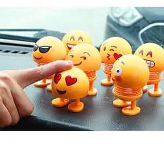 Thú nhún Emoji con lắc lò xo siêu vui nhộn