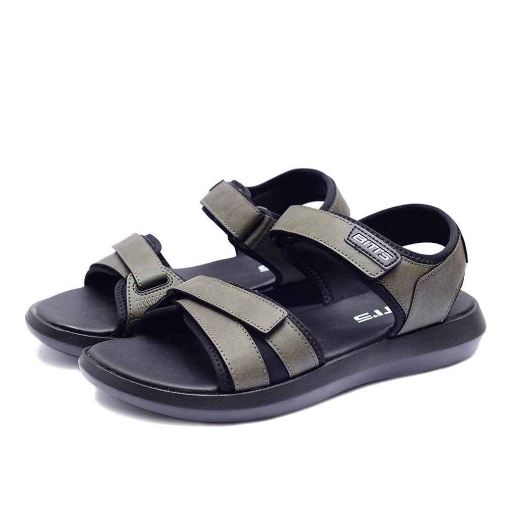 Sandal Si Đế PU Biti's Nam DPM027400REU (Rêu)