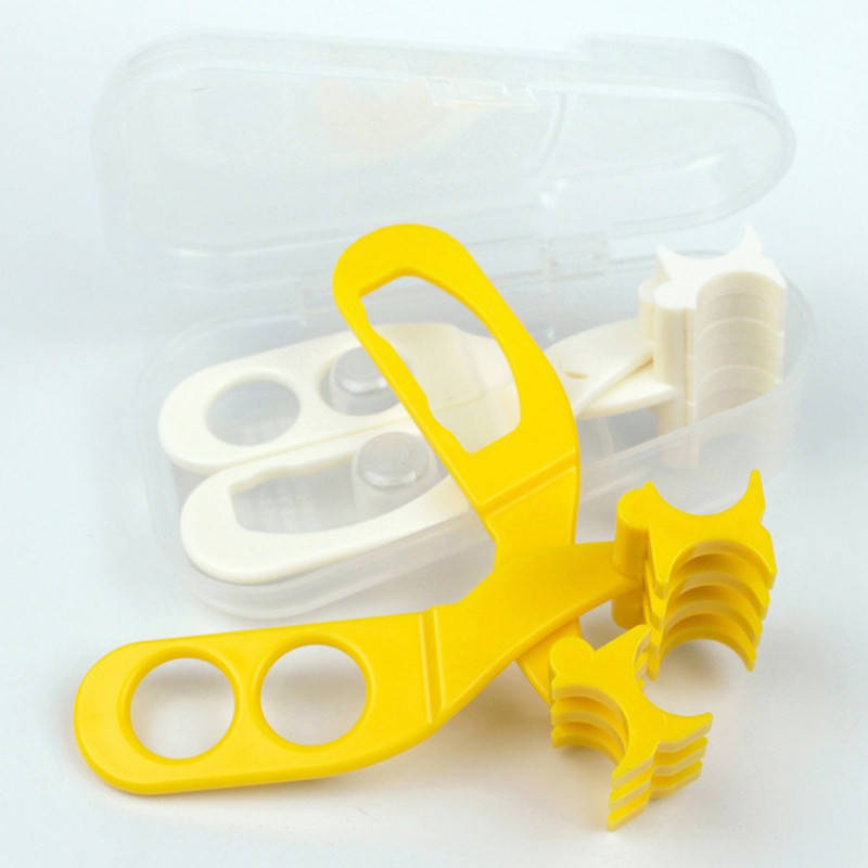 BOBORA Baby Food Scissors Baby Feeding Helper Shears Storage Boxes Baby Supplies