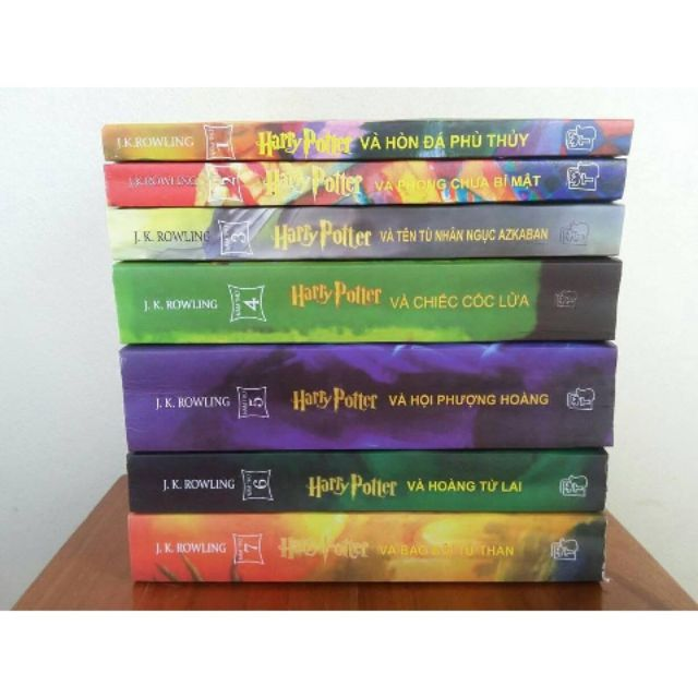 Sách- Harry potter trọn bộ 7 tập
