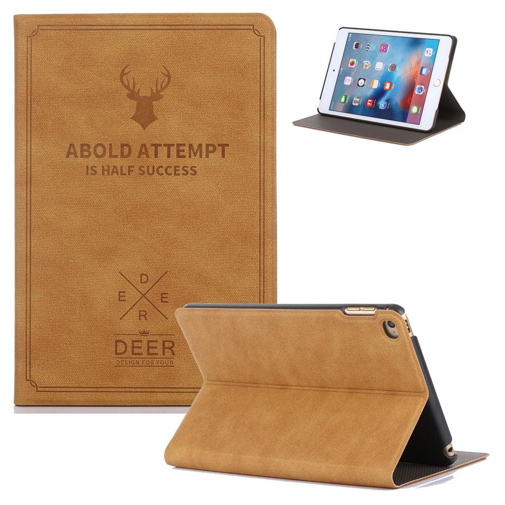 Bao da hình hươu kiểu dáng vintage cho iPad Air/Air2/Pro 9.7/iPad 9.7 2017/iPad 9.7 2018