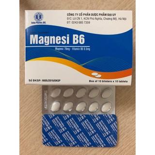 Magie B6 – Magnesi B6 hộp 100 viên – tăng cường sức đề kháng cho cơ thể