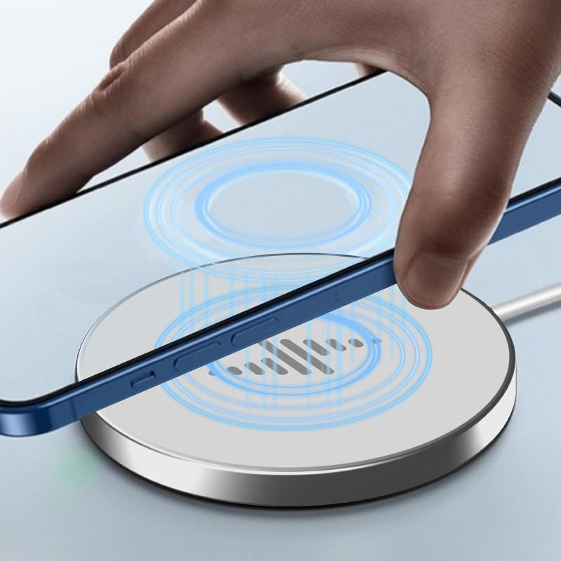 Đế Sạc Không Dây 15w Type C Pd Cho Iphone 12 Pro Max Magsafe