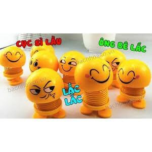 [SALE OFF 22%]Emoji Lắc Đầu - Vui Lên Cho Đời Bớt Nhạt thú nhún emoji con lắc lò xo