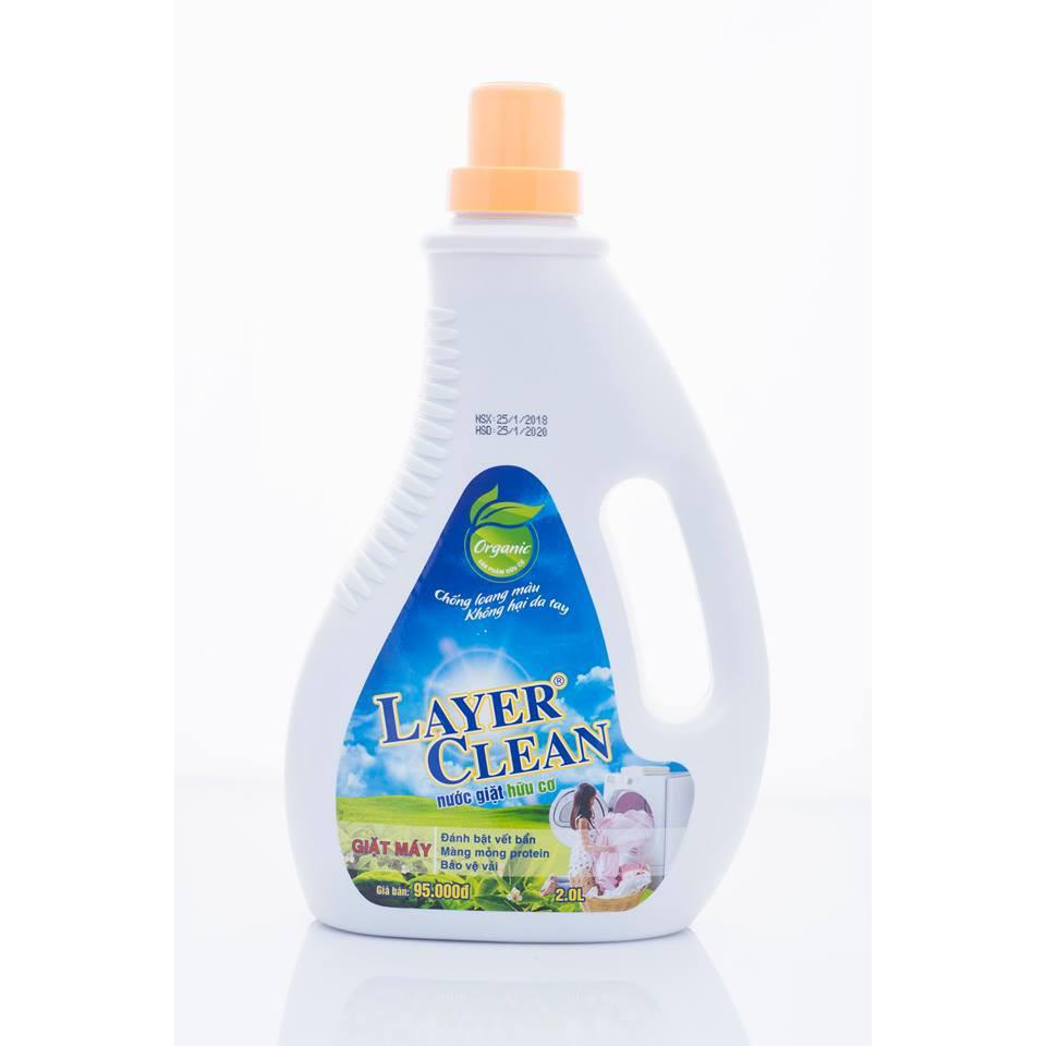Nước giặt hữu cơ Layer Clean chai 2 lít