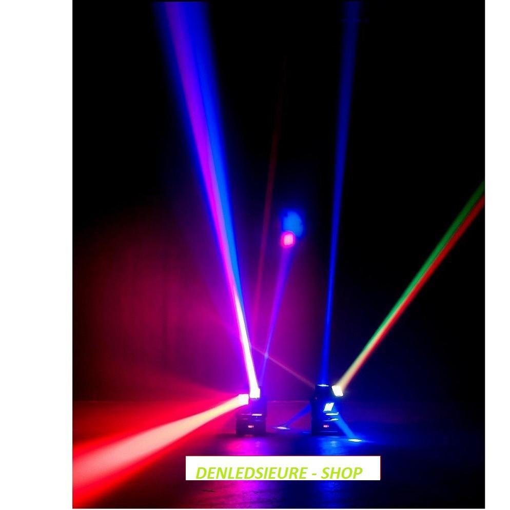 💎[GIÁ HỦY DIỆT] Đèn Moving 8 Mắt Hip Hop Si