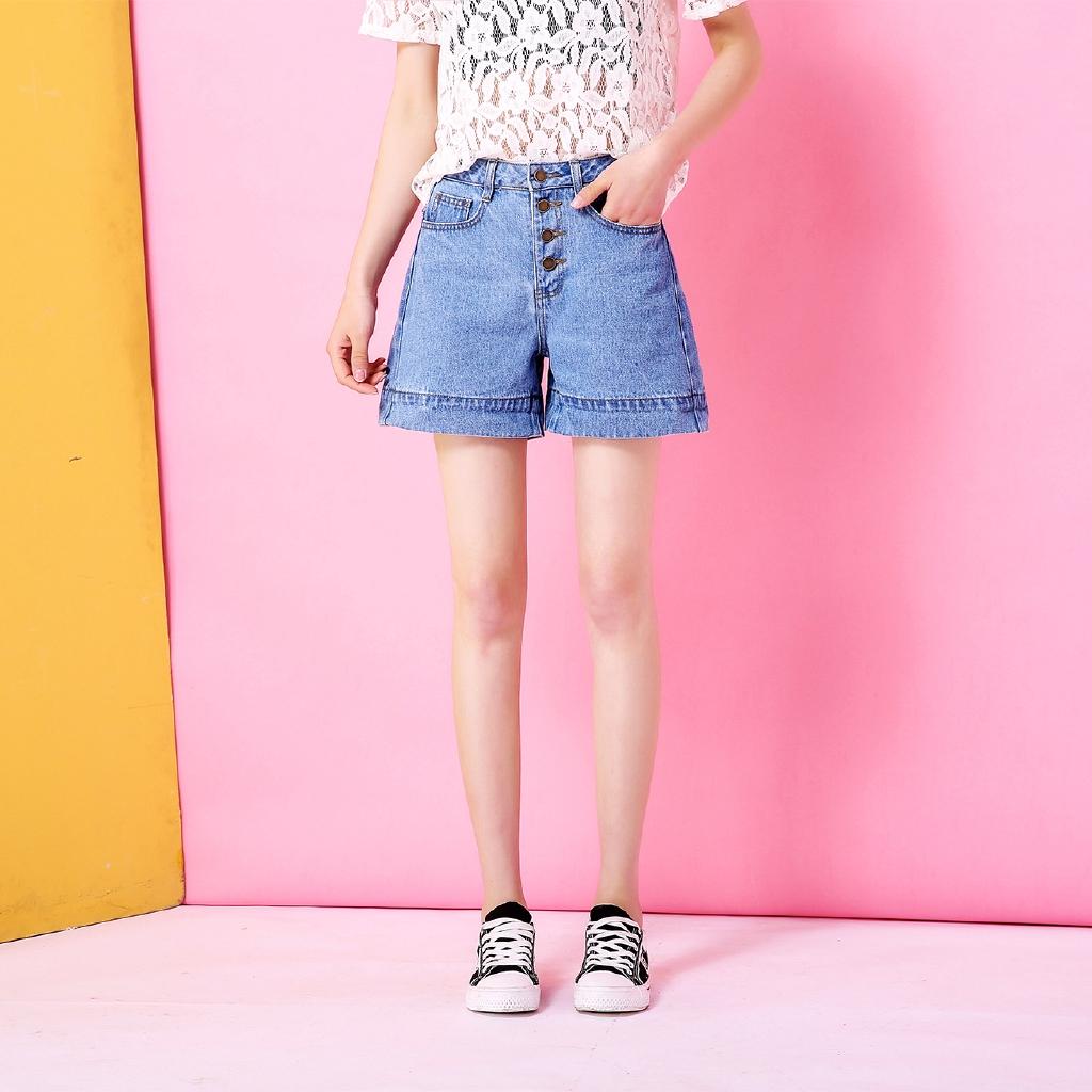 quần short jean lưng cao ống rộng xinh xắn cho nữ - 14039396 , 2515084872 , 322_2515084872 , 256400 , quan-short-jean-lung-cao-ong-rong-xinh-xan-cho-nu-322_2515084872 , shopee.vn , quần short jean lưng cao ống rộng xinh xắn cho nữ