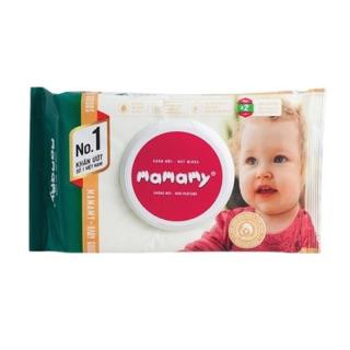 Khăn ướt Mamamy không mùi gói 100 tờ