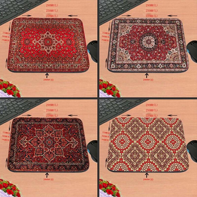 18*22CM mousepad persian carpet style rubber anti-slip laptop game mouse pad
