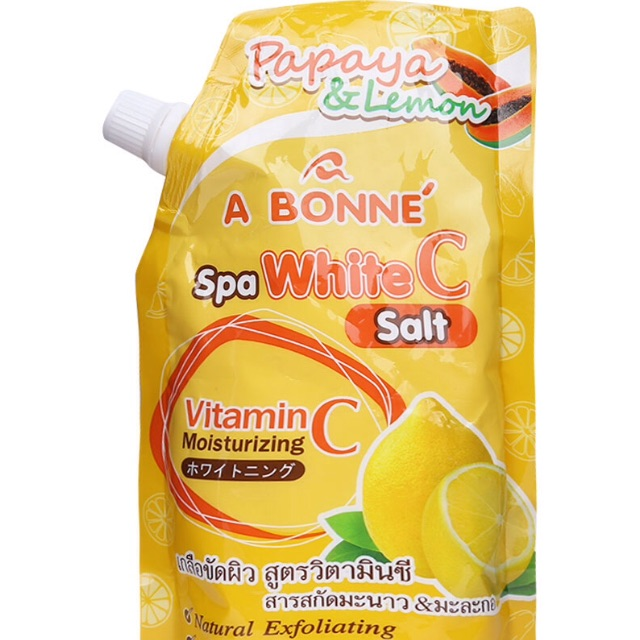 Muối Tắm Spa Abonne Vitamin C 350g