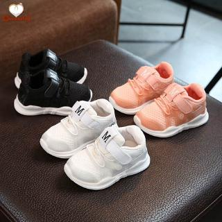 C✞ Baby Boys Girls Sports Shoes Wear-resistant Anti-slip Breathable Casual Shoes for Autumn