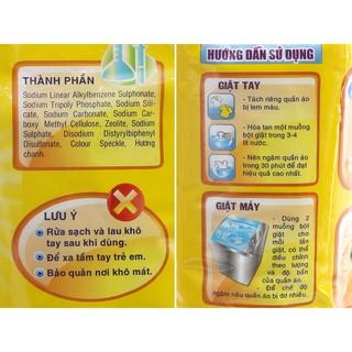 Hình ảnh Bột Giặt LIX Extra Hương Chanh 300G EC300 - Tẩy Sạch Vết Bẩn Cực Mạnh-2