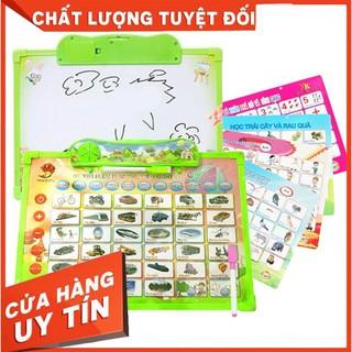 [TRỢ GIÁ] [Mã TOYDEC giảm 10% tối đa 15K đơn từ 50K] Bảng học điện tử thông minh 11 chủ đề Anh – Việt cho bé co