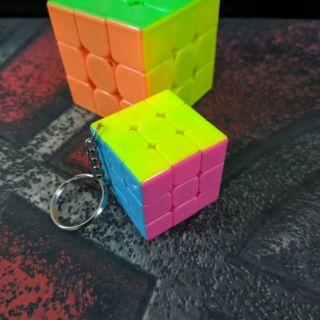 Đồ chơi Rubik 3×3 Móc Khóa Yuxin Keychain