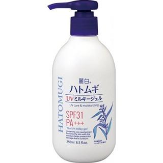 Kem dưỡng chống nắng body, làm trắng da Hatomugi Nhật Bản