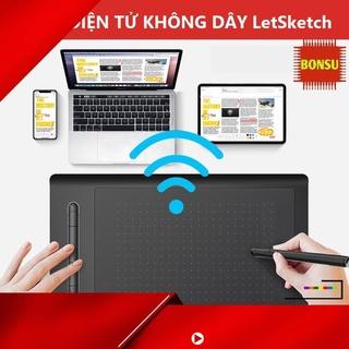[ Hàng Hot ] Bảng điện tử không dây LetSketch của hãng VSON 8 inch nhập khẩu thumbnail