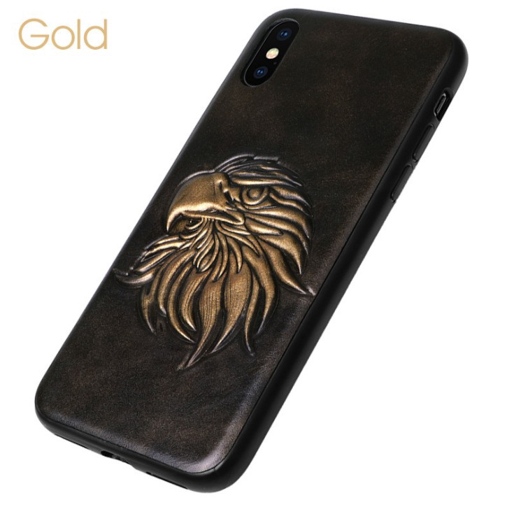 3D Emboss Retro Style Phone Case For iPhoone 6 6s 7 8 plus X Cases Soft Covers