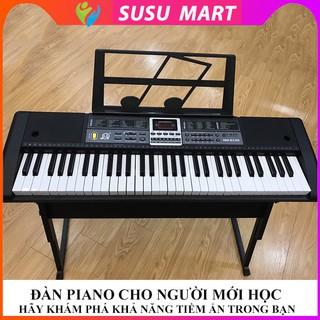Đàn Piano Điện Tử Cho Người Mới Học Đàn Organ Electronic Keyboard Đàn 61 Phím 2cm nq