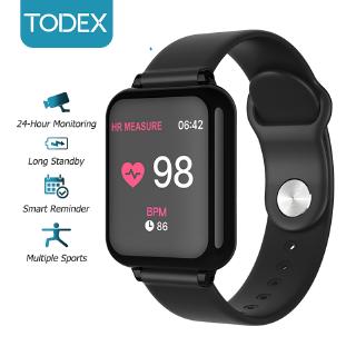 Đồng Hồ Thông Minh TODEX B57 Màn Hình Cảm Ứng Hỗ Trợ Đo Huyết Áp Và Oxy Trong Máu Cho Android Ios