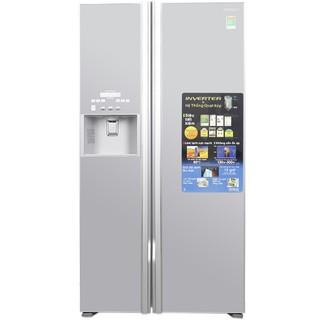 Tủ lạnh Side-By-Side Hitachi R-FS800GPGV2-GS (605 Lít)