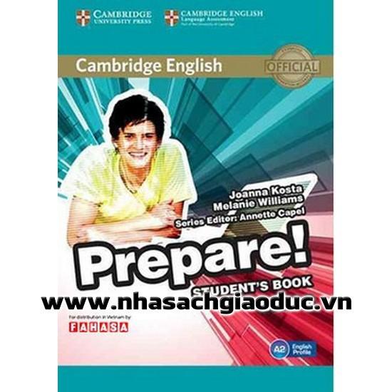 Sách - Cambridge English Prepare Level 3 Student