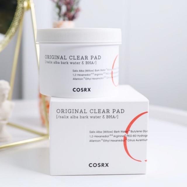 Bông tẩy tế bào chết Cosrx Original clear Pad   Shopee Việt Nam