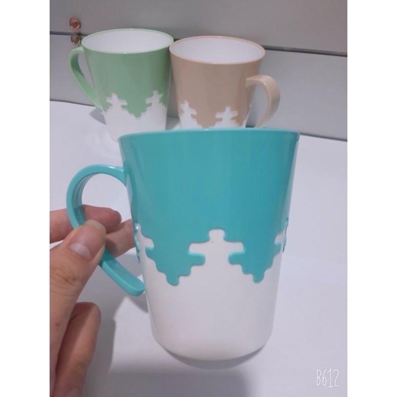 cốc nhựa phíp,uống nước,đánh răng phối màu cao cấp