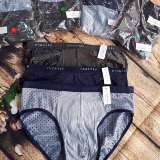 [HUẾ] SET 10 quần sịp nam Boxer thông hơi vải mát lạnh thoáng khí-hàng đẹp