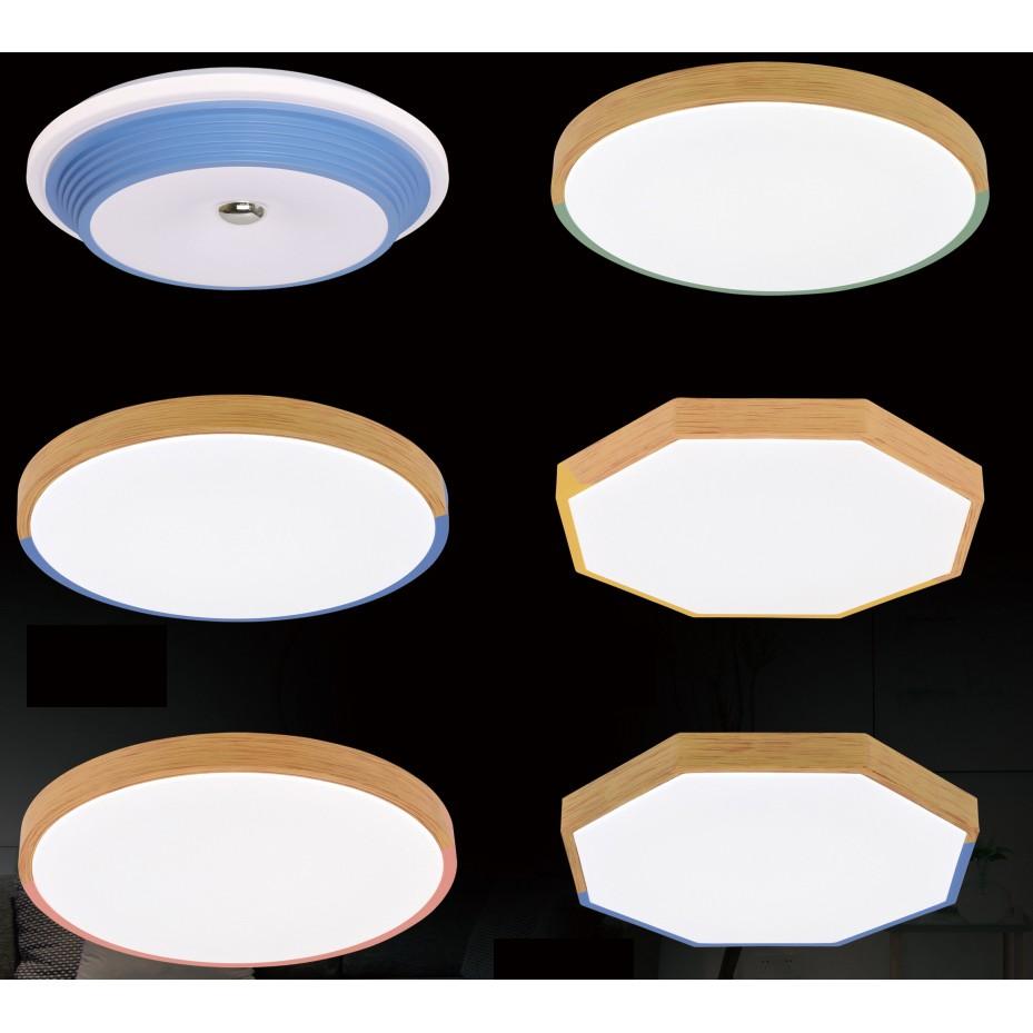 Đèn ốp trần Led, đèn ốp trần nổi trang trí, đèn ốp tròn, ốp trần lục giác rẻ đẹp, ốp trần nổi phi 500mm