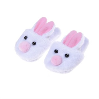 NEW❤❤2017 New Cute Withe Felt Slippers For American Girls 18inch Gril Do