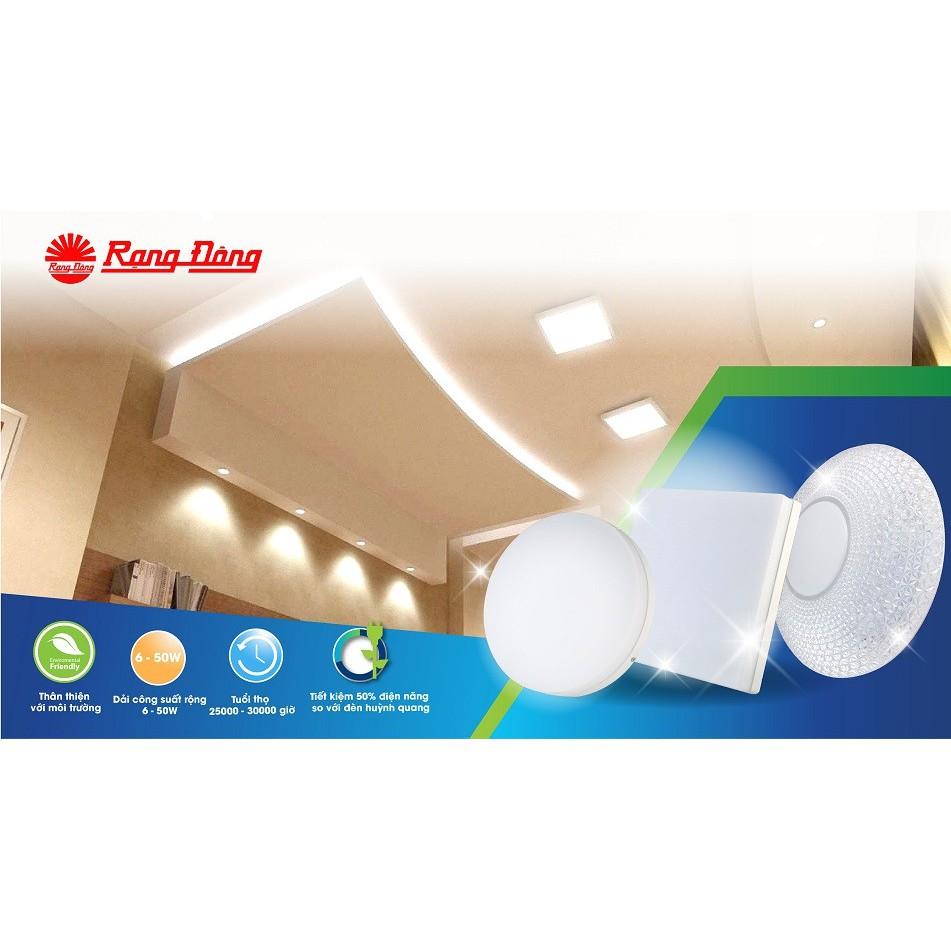 Đèn LED Ốp trần tròn 30W Đổi màu Rạng Đông LN12 ĐM 300/30W chính hãng  354,200đ