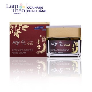 Kem Sâm Dưỡng Ẩm Và Sáng Da My Gold Korea Red Ginseng White Cream