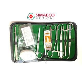 Bộ tiểu phẫu 12 món Simaeco + bao da thumbnail