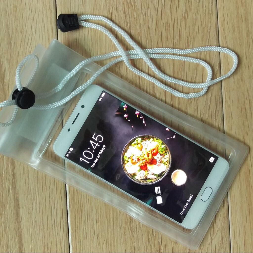 [Loại đẹp] Túi đựng điện thoại chống nước đi biển (loại trong không hình)