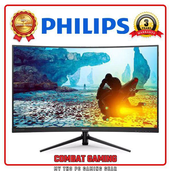 Màn Hình Cong LCD PHILIPS 272M8CZ 27 Inch (1920 x 1080/VA/165Hz/1 ms/FreeSync)