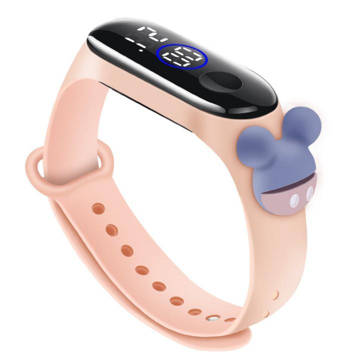 [RẺ VÔ ĐỊCH] Đồng hồ Disney Mickey Zgo silicon 14 MẪU nam nữ unisex trẻ em thể thao chống nước đèn led mẫu mới hot hit
