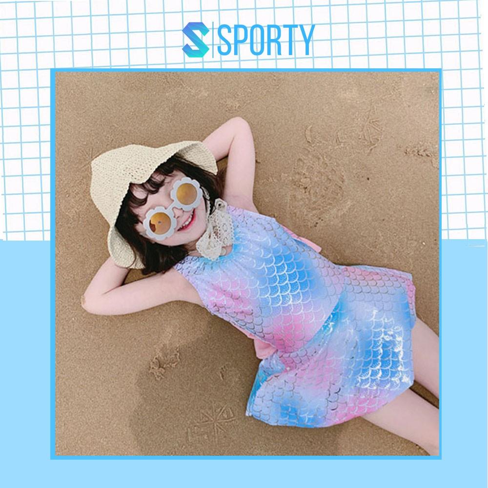 Đồ Bơi Trẻ Em Dạng Váy - Áo Bơi Một Mảnh Liền Thân Màu Lấp Lánh SPORTY SW1912