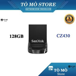 USB 3.1 SanDisk Ultra Fit CZ430 128GB 130MB/s - Bảo hành 5 năm