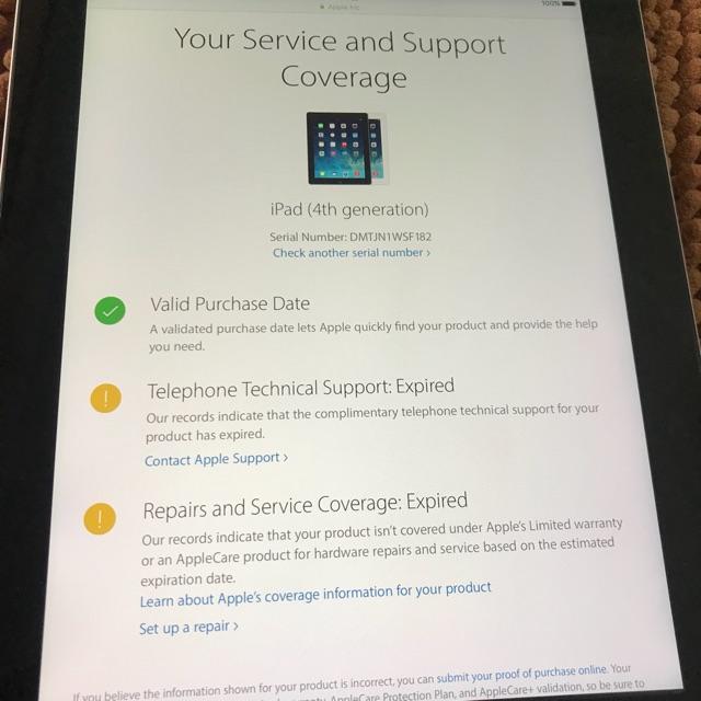 iPad 4 sử dụng wifi 16G