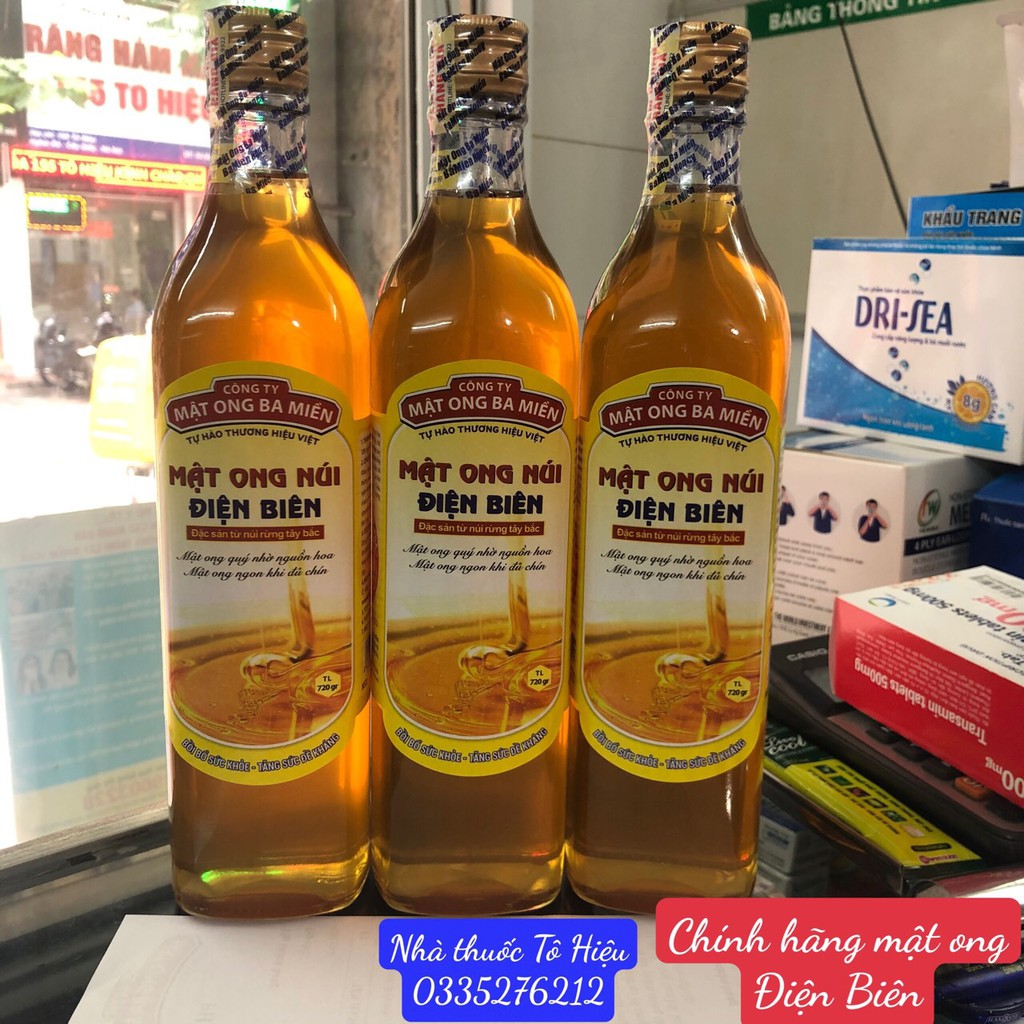 Mật ong núi Điện Biên (Chính hãng)- Mật ong ba miền, cam kết chính hãng