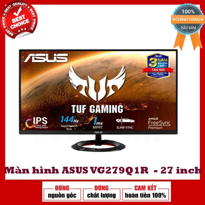 Màn hình máy tính Asus Tuf chuyên game VG279Q1R 27'' FHD IPS 144HZ 1MS FREESYNC