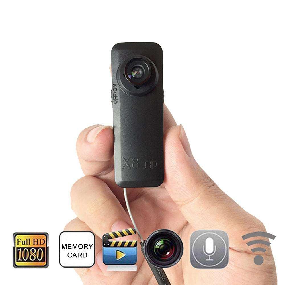 Camera Cúc Áo Tích Hợp Wifi X8 Chất Lượng Full HD
