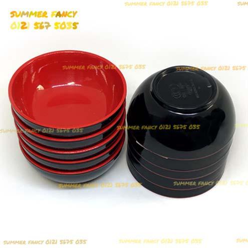 Chén melamine đỏ đen ăn cơm cao cấp 11.2 x 5.4 cm - Small Bowl - 2996051 , 1082677825 , 322_1082677825 , 12900 , Chen-melamine-do-den-an-com-cao-cap-11.2-x-5.4-cm-Small-Bowl-322_1082677825 , shopee.vn , Chén melamine đỏ đen ăn cơm cao cấp 11.2 x 5.4 cm - Small Bowl